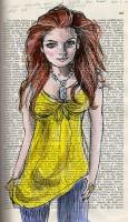 Lindsay Lohan Zeichnung von Flickr headexplodie