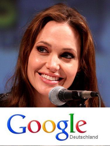 Angelina Jolie und Google