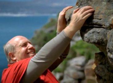 Der Freeclimber Rainer Calmund