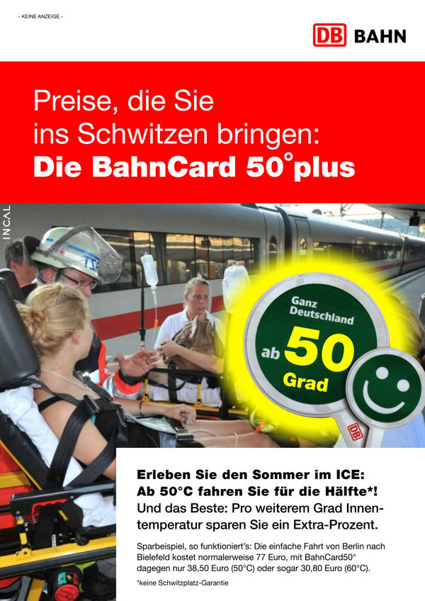 Bahncard 50 Grad plus