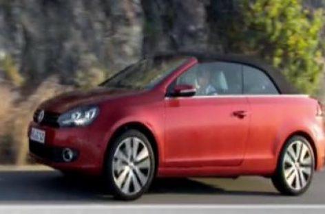 Das VW Golf Cabrio kommt