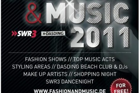 Fashion & Music 2011 @ Outletcity Metzingen