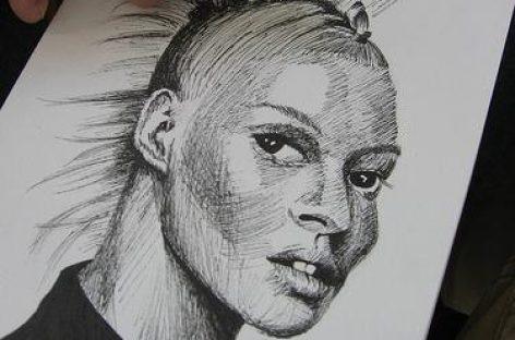 Kate Moss und der Shopping-Marathon