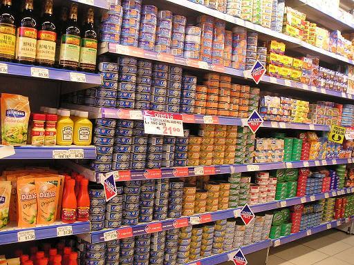 Supermarkt Produkte