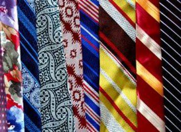 Eine Krawatte ist Stil