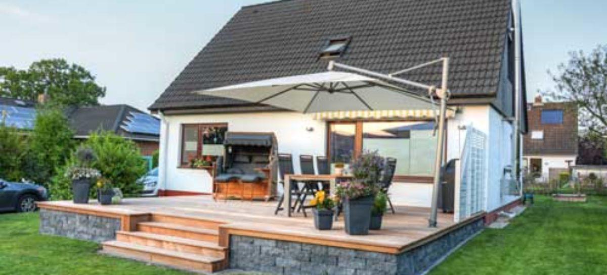 Die Terrasse sanieren – so lässt sich die Terrasse wieder neu in Szene setzen!